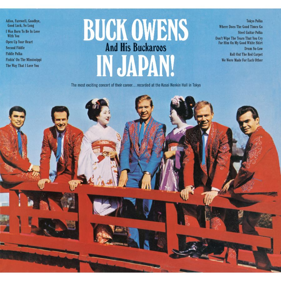 Owens, Buck - Buck Owens & His Buckaroos In Japan! - CD