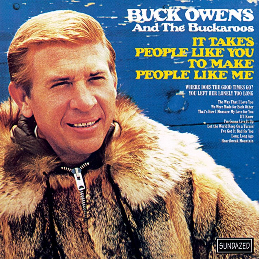 Owens, Buck and His Buckaroos - It Takes People Like You CD