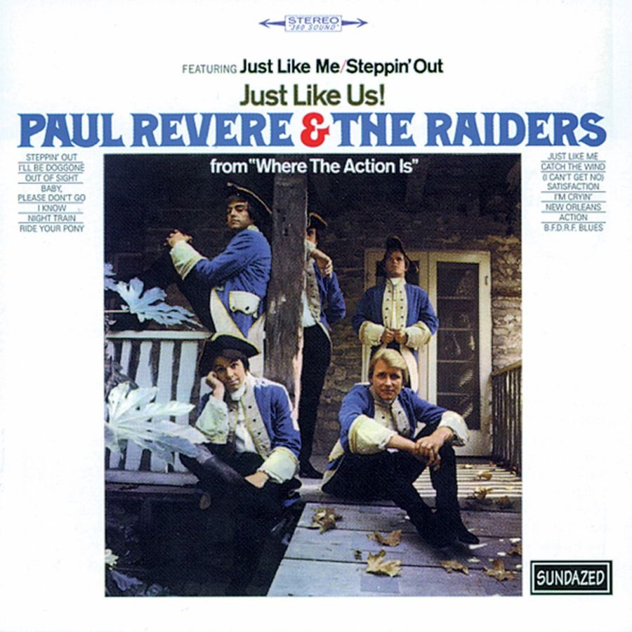Paul Revere & the Raiders - Just Like Us! CD