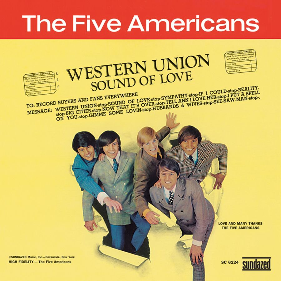 Five Americans, The - Western Union - CD