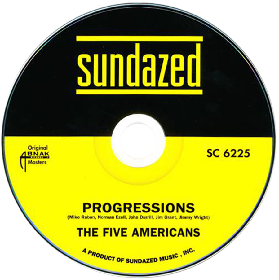 Five Americans, The - Progressions - CD - CD-SUND-6225