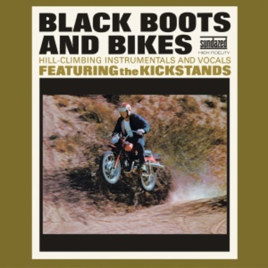 Kickstands, The - Black Boots & Bikes - CD