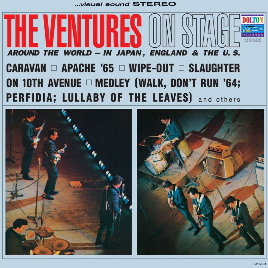 Ventures, The - The Ventures On Stage CD