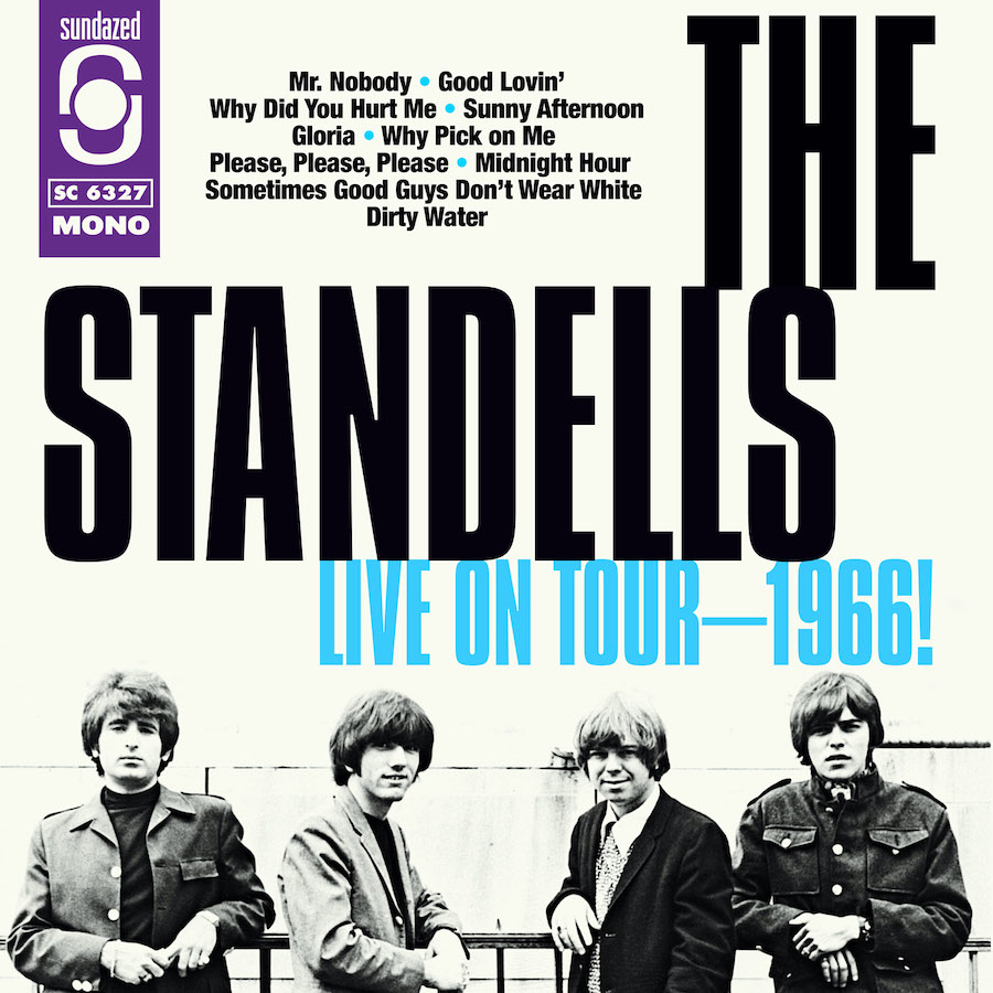 Standells, The - LIVE ON TOUR - 1966!  CD