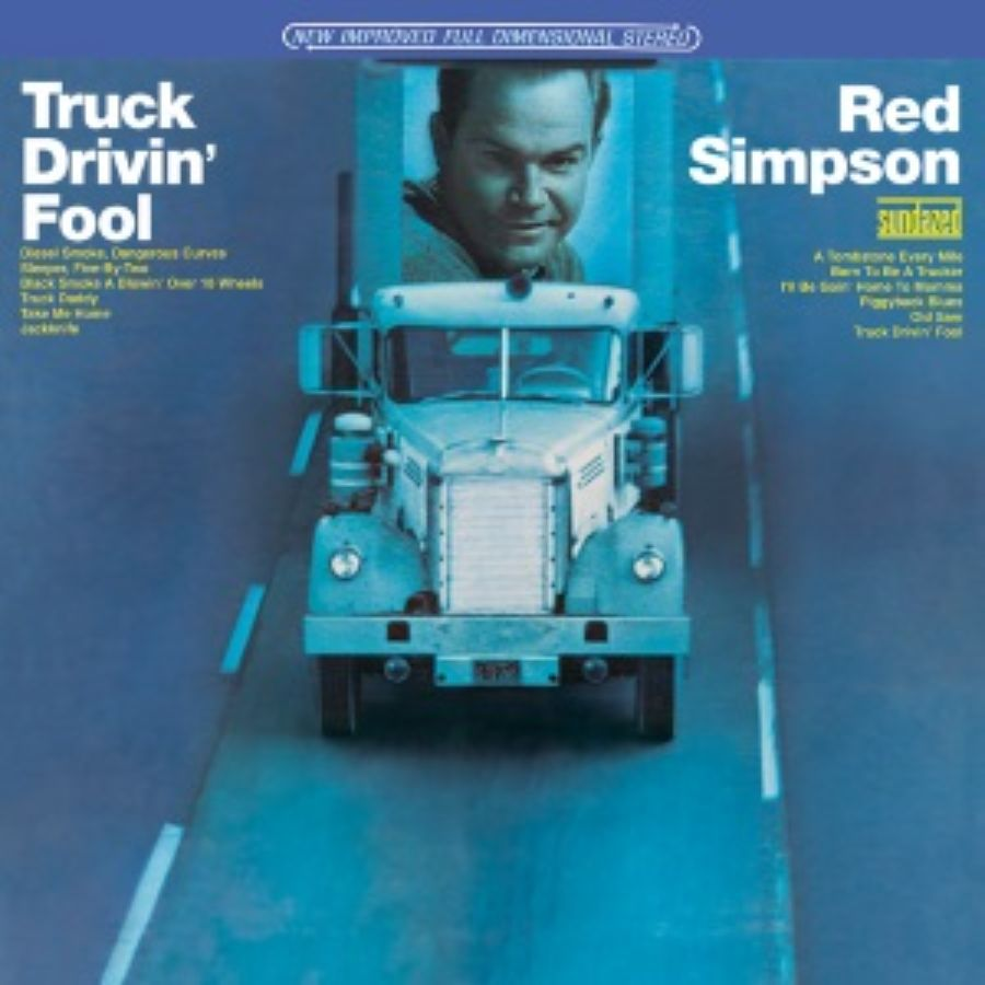 Simpson, Red - Truck Drivin Fool - CD