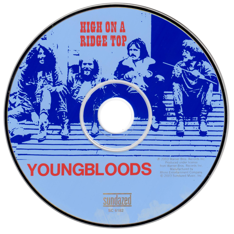Youngbloods - High On A Ridge Top - CD