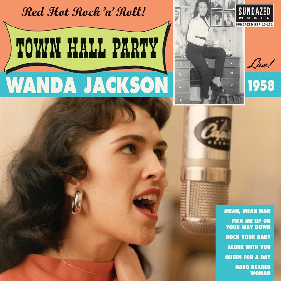 "Jackson, Wanda - Wanda Jackson Live at Town Hall Party 1958 - 10"" EP"