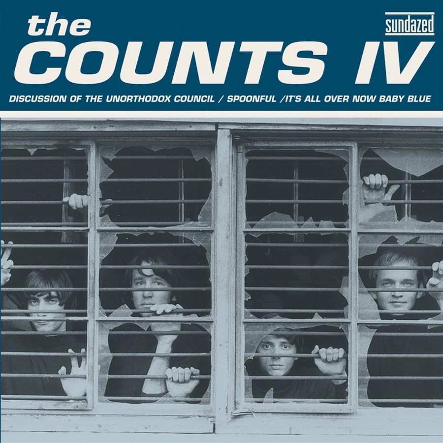 "Counts IV, The - Discussion of the Unorthodox Council / Spoonful / Its All Over Now, Baby Blue 7"" EP"