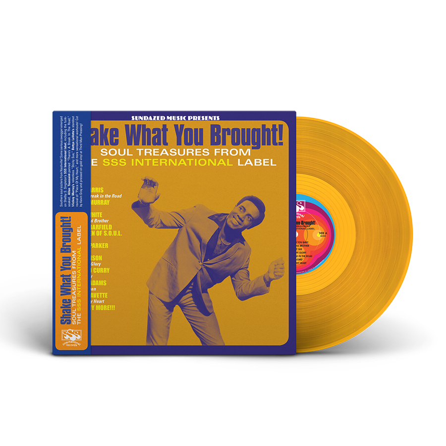 Various Artists - Shake What You Brought! - Soul Treasures From The SSS International Label LP - LP 5572