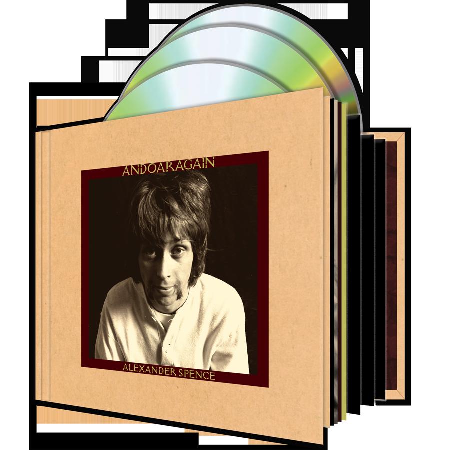 Spence, Alexander Skip  - AndOarAgain - 3-CD