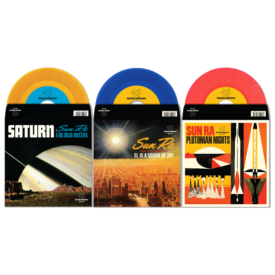 "Sun Ra 7"" Bundle! - SunRa7-B"