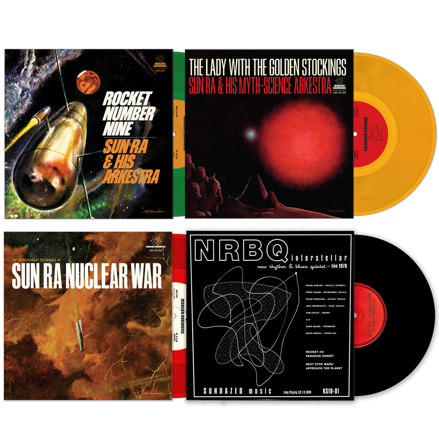 "Sun Ra 10"" Bundle + NRBQ 10"" - SunRa-4-PK"