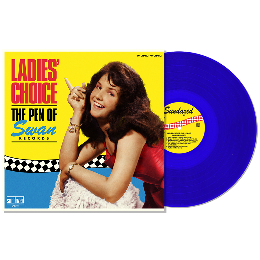 Swan Records - Ladies Choice: The Pen Of Swan Records - Blue Vinyl LP