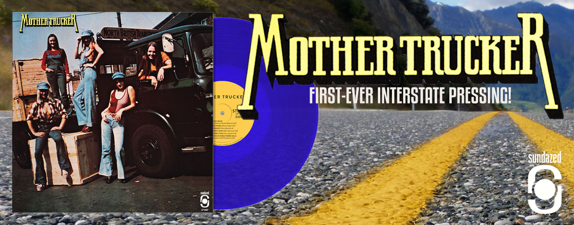 First ever US pressing of Mother Trucker!