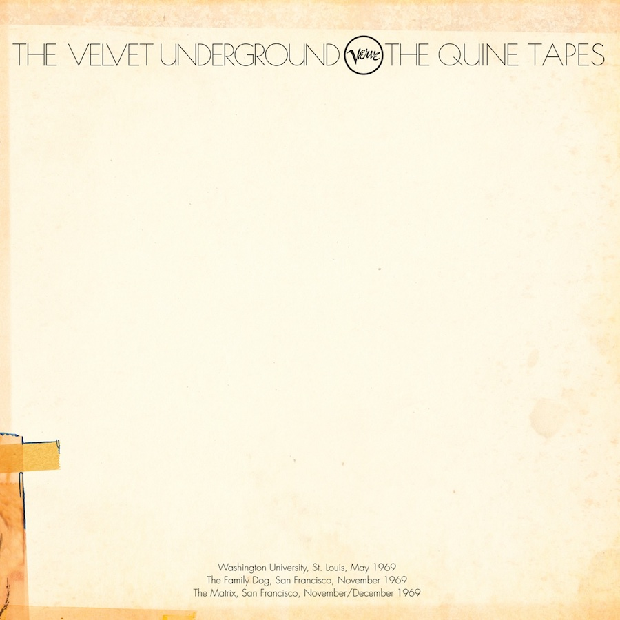 Velvet Underground, The - The Quine Tapes 6-LP Deluxe Box Set