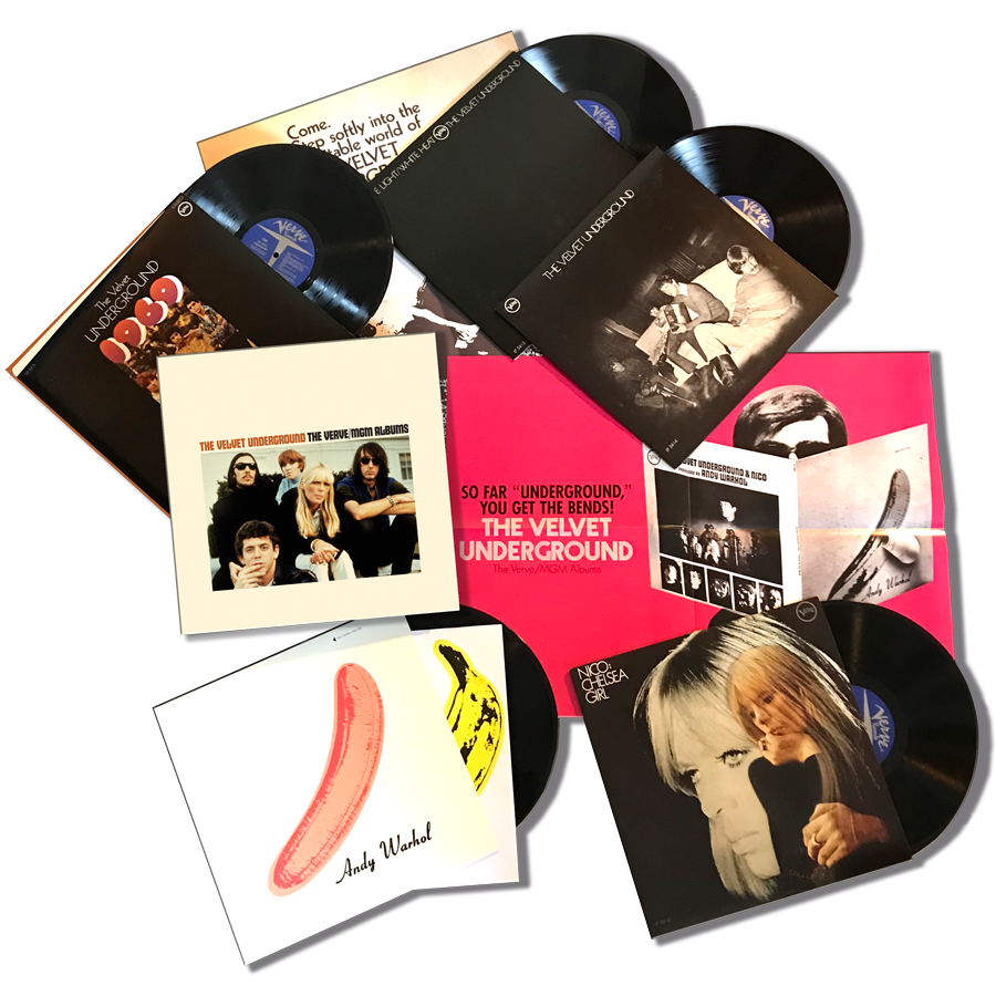 Velvet Underground, The - The Verve/MGM Albums 5-LP Deluxe Box Set