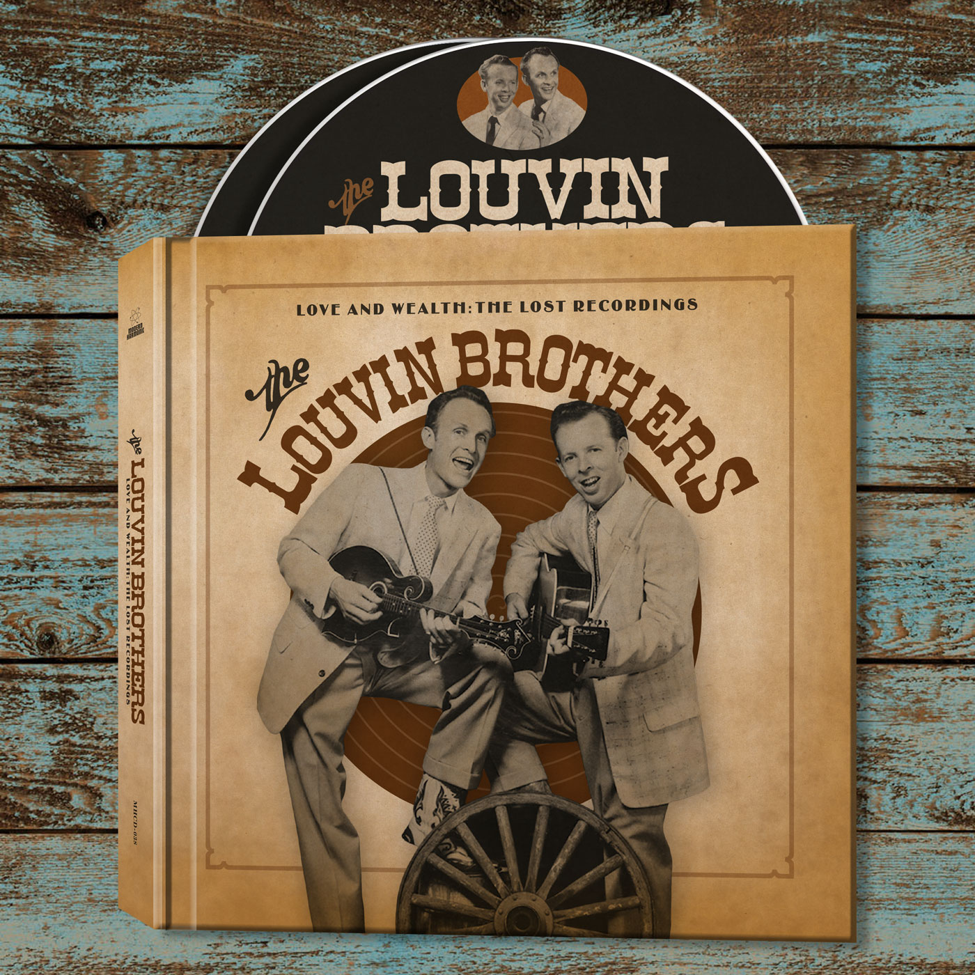 Louvin Brothers, The - Love And Wealth: The Lost Recordings - 2-CD