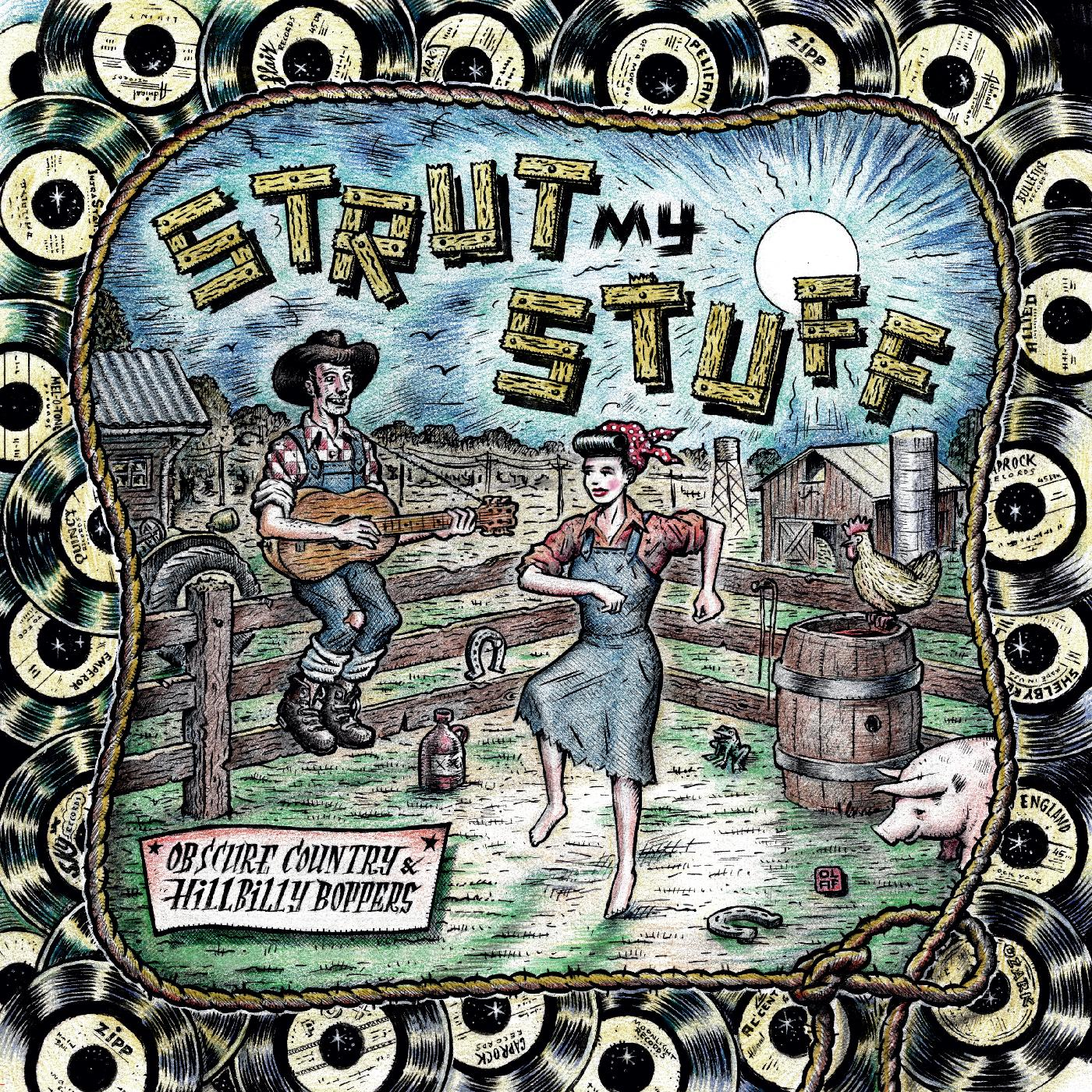 Strut My Stuff album cover