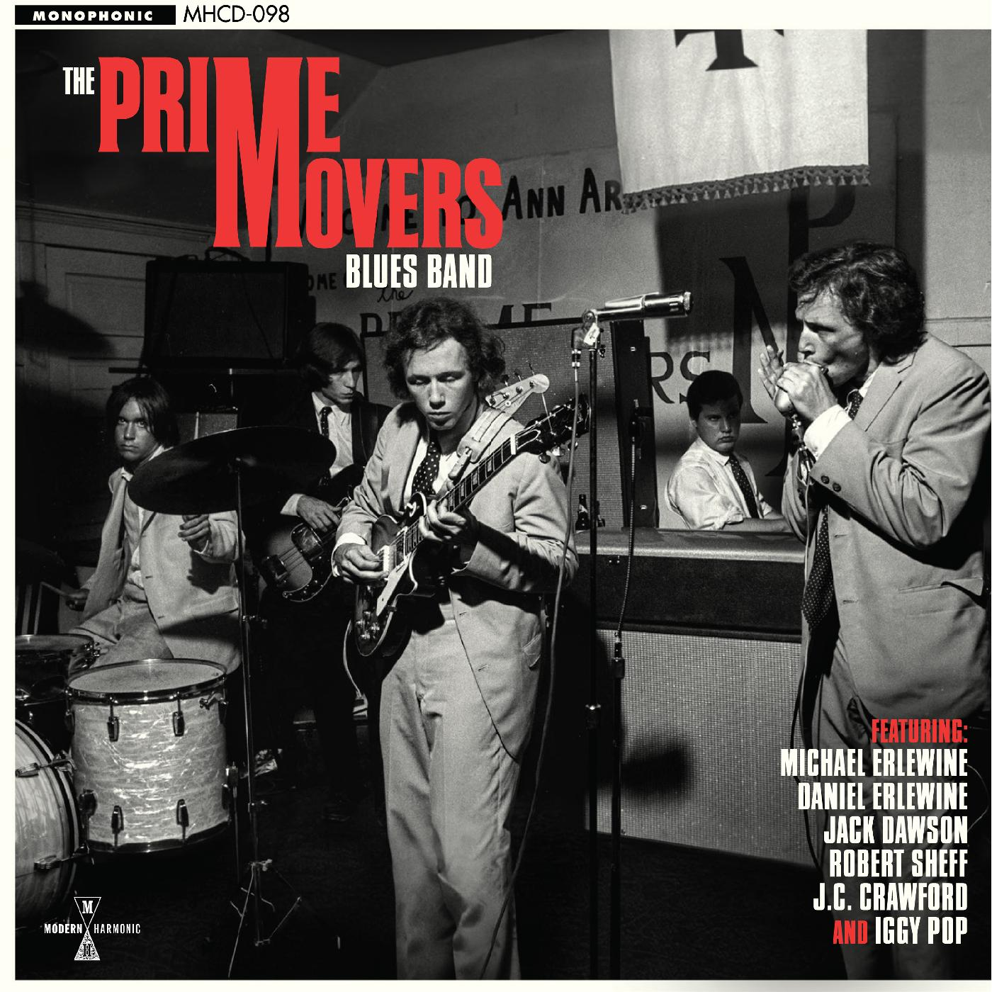 Prime Movers Blues Band - Self Titled - CD Features Iggy!