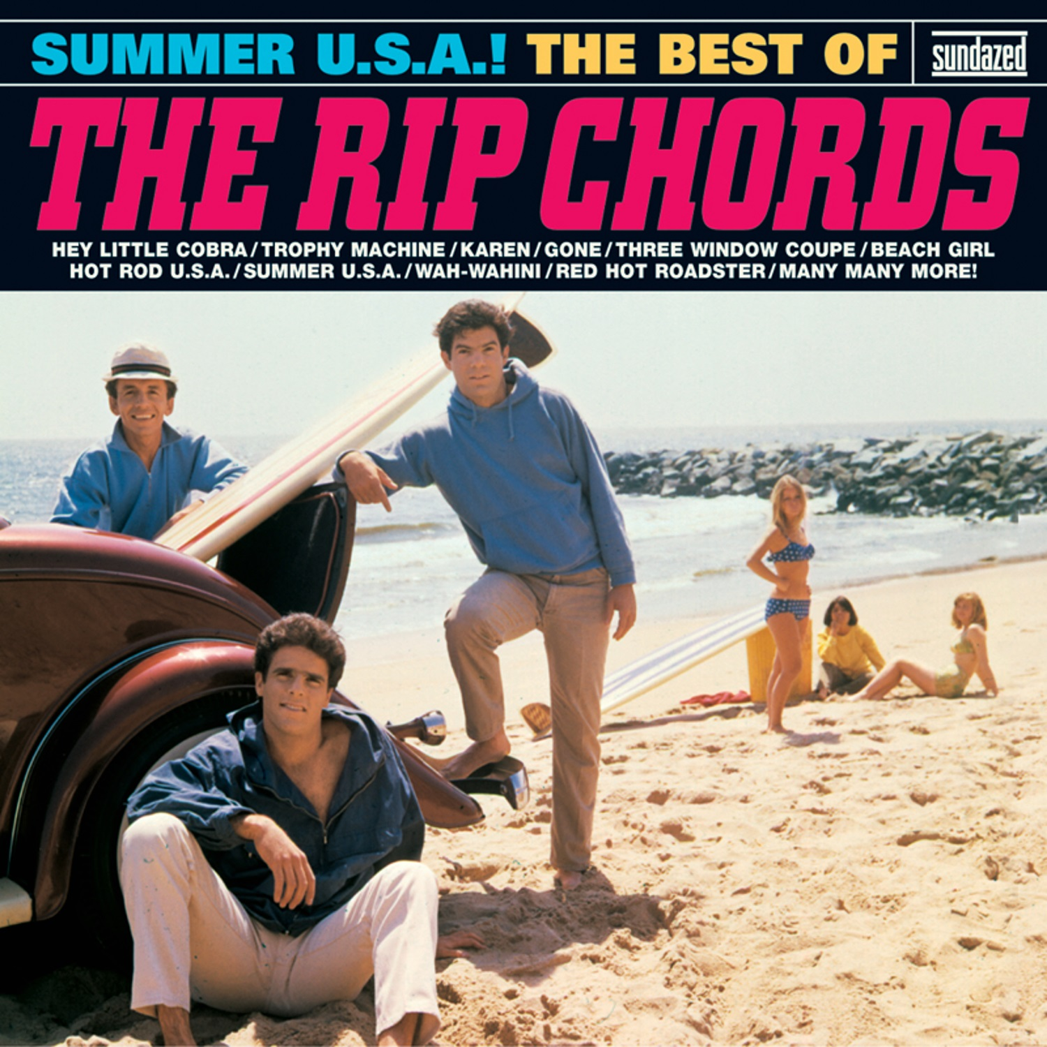 Rip Chords, The - Summer USA! Best Of The Rip Chords - CD