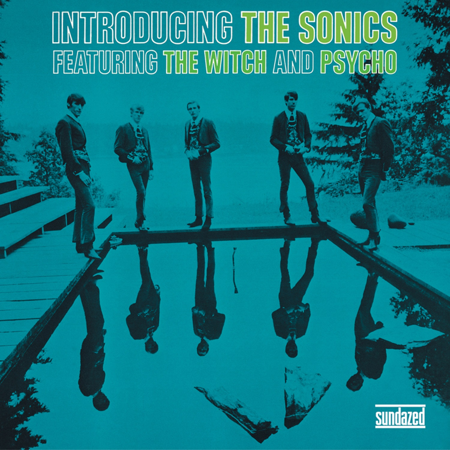 Sonics, The - Introducing The Sonics: Expanded Edition - COLORED VINYL LP  - BR 114-CLR