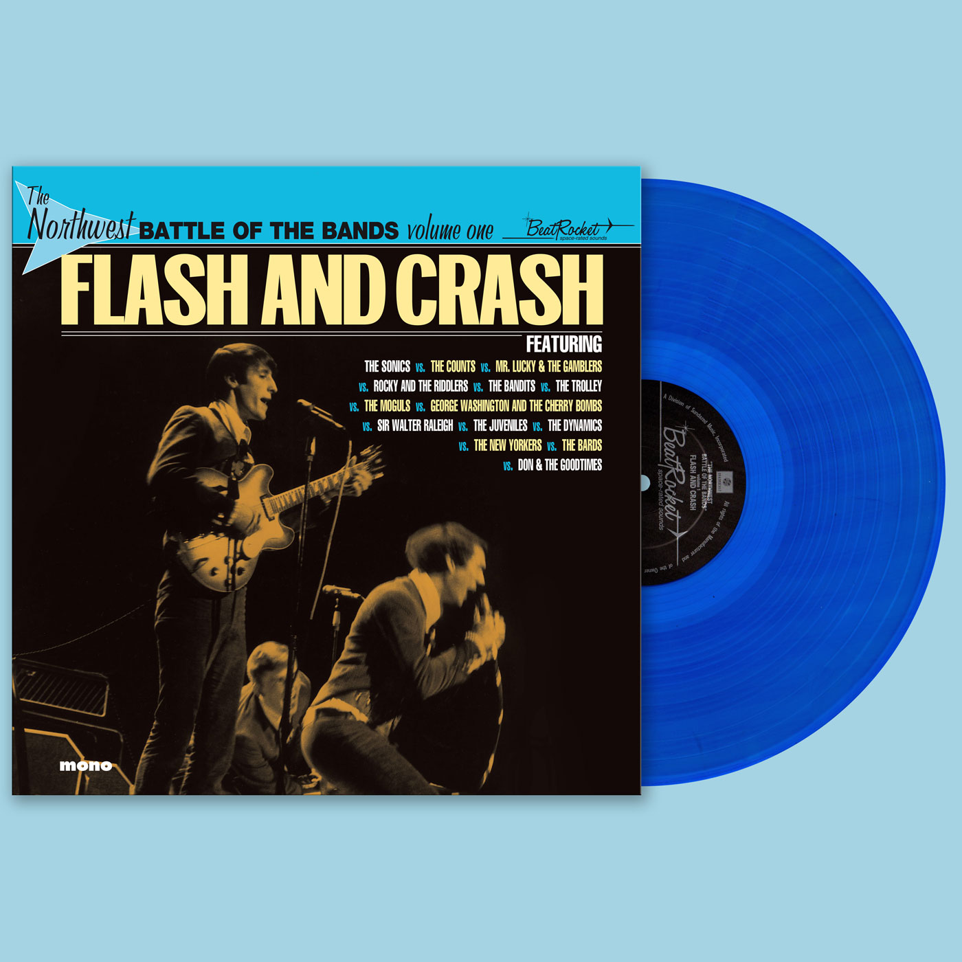 Various Artists - Northwest Battle Of The Bands - Vol. 1 - Flash And Crash - LP