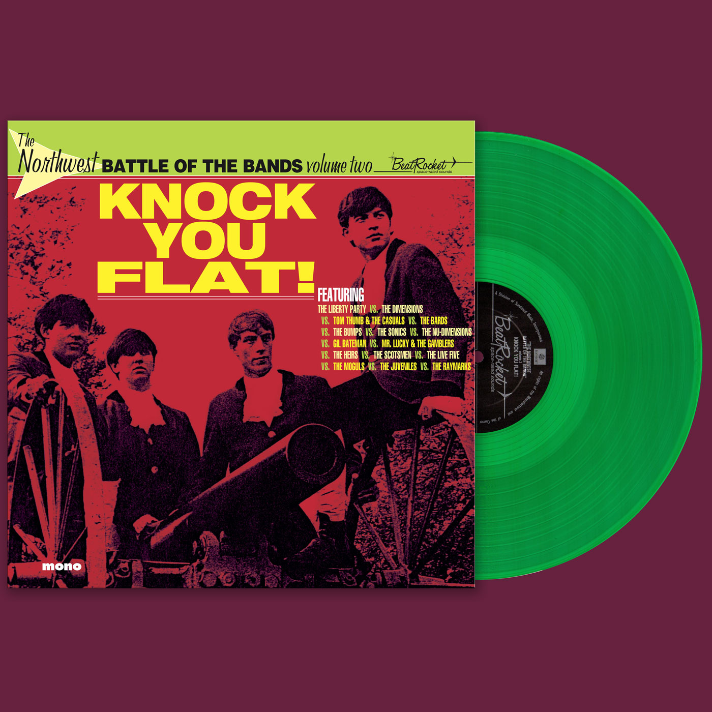 Various Artists - Northwest Battle Of The Bands - Vol. 2 - Knock You Flat! - LP