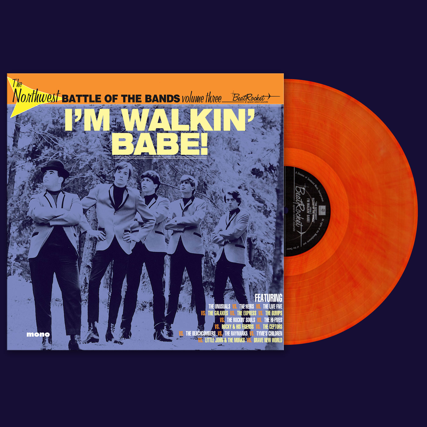Various Artists - Northwest Battle Of The Bands - Vol. 3 - I'm Walkin' Babe! - LP