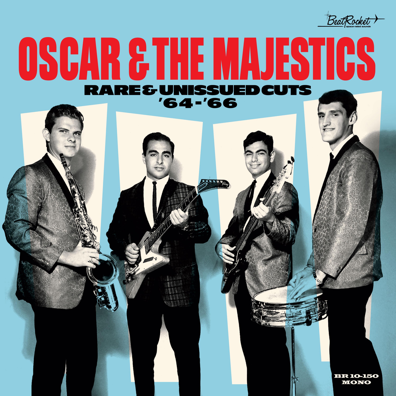 "Oscar & the Majestics - Rare & Unissued Cuts 64-66 - 10"" EP"