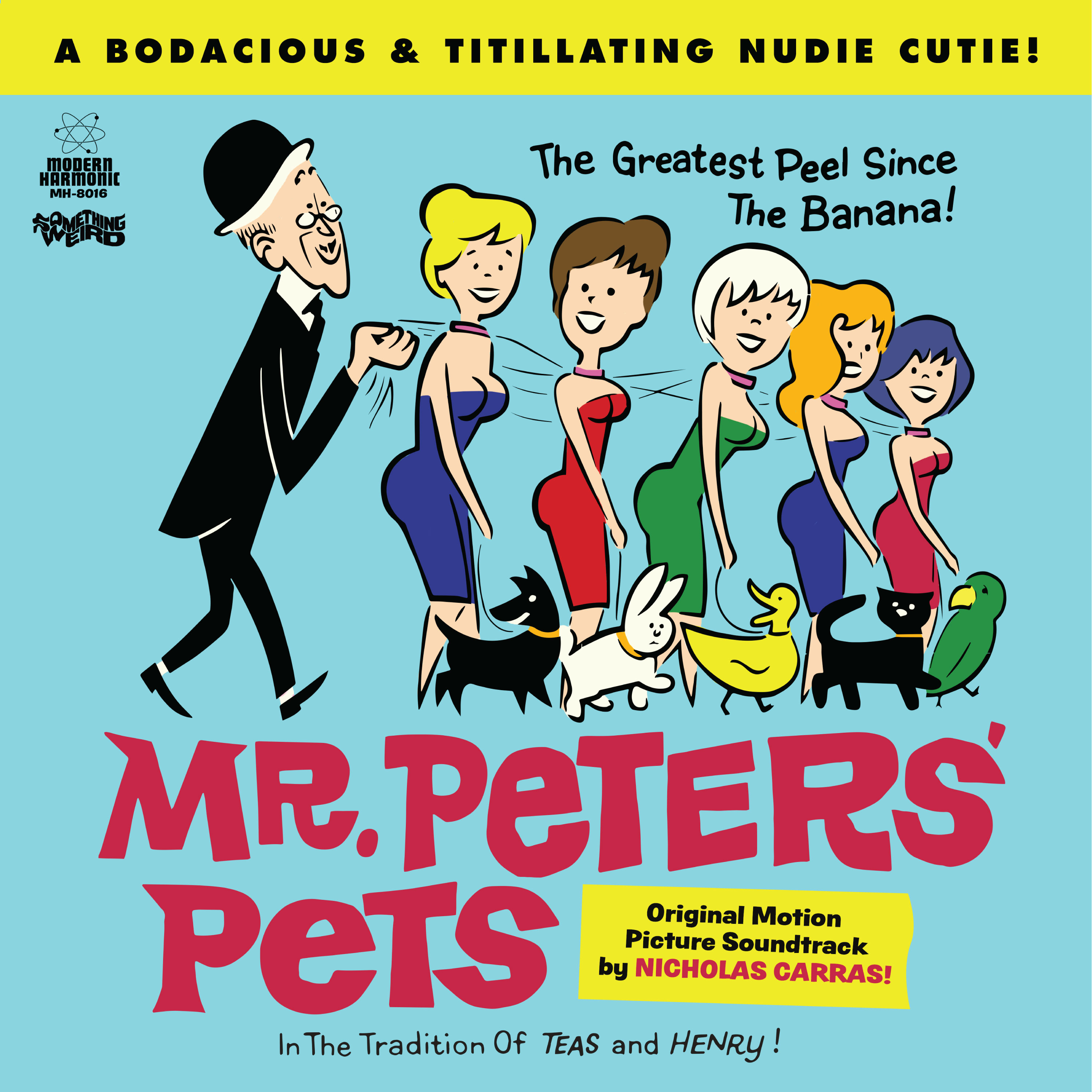 Carras, Nicholas - Mr. Peters' Pets - LP