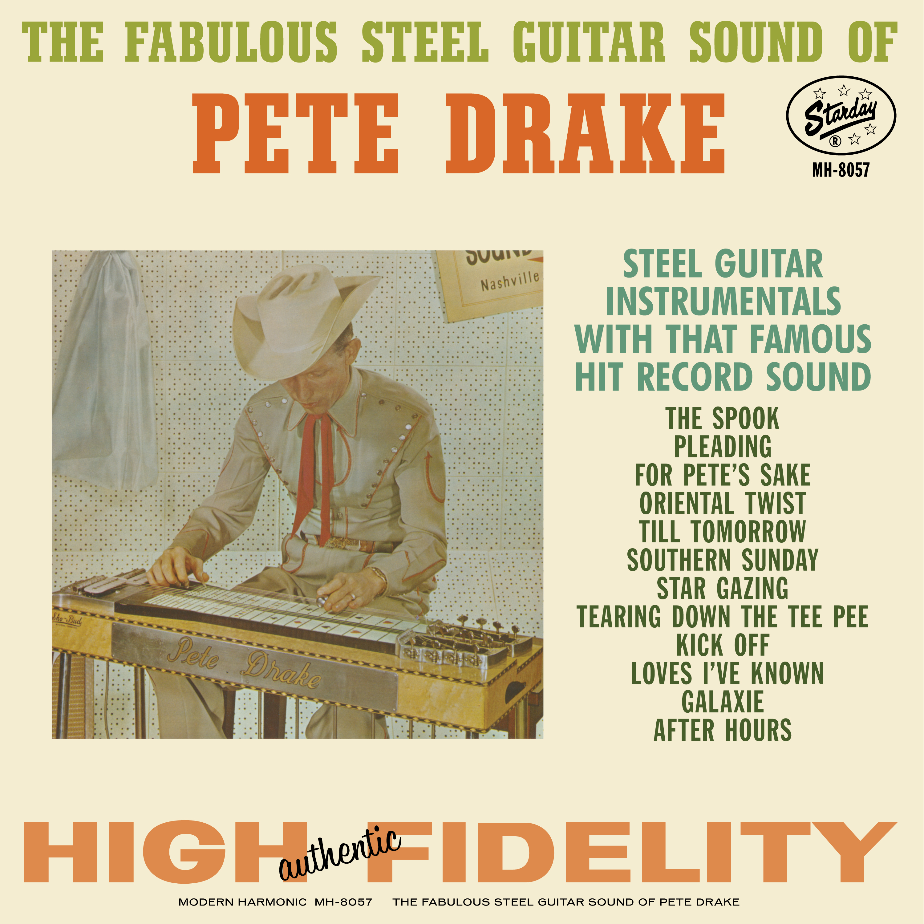 Drake, Pete - The Fabulous Steel Guitar Sound Of Pete Drake - LP