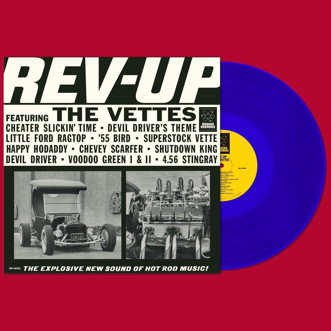 Vettes, The - Rev-Up! - LP