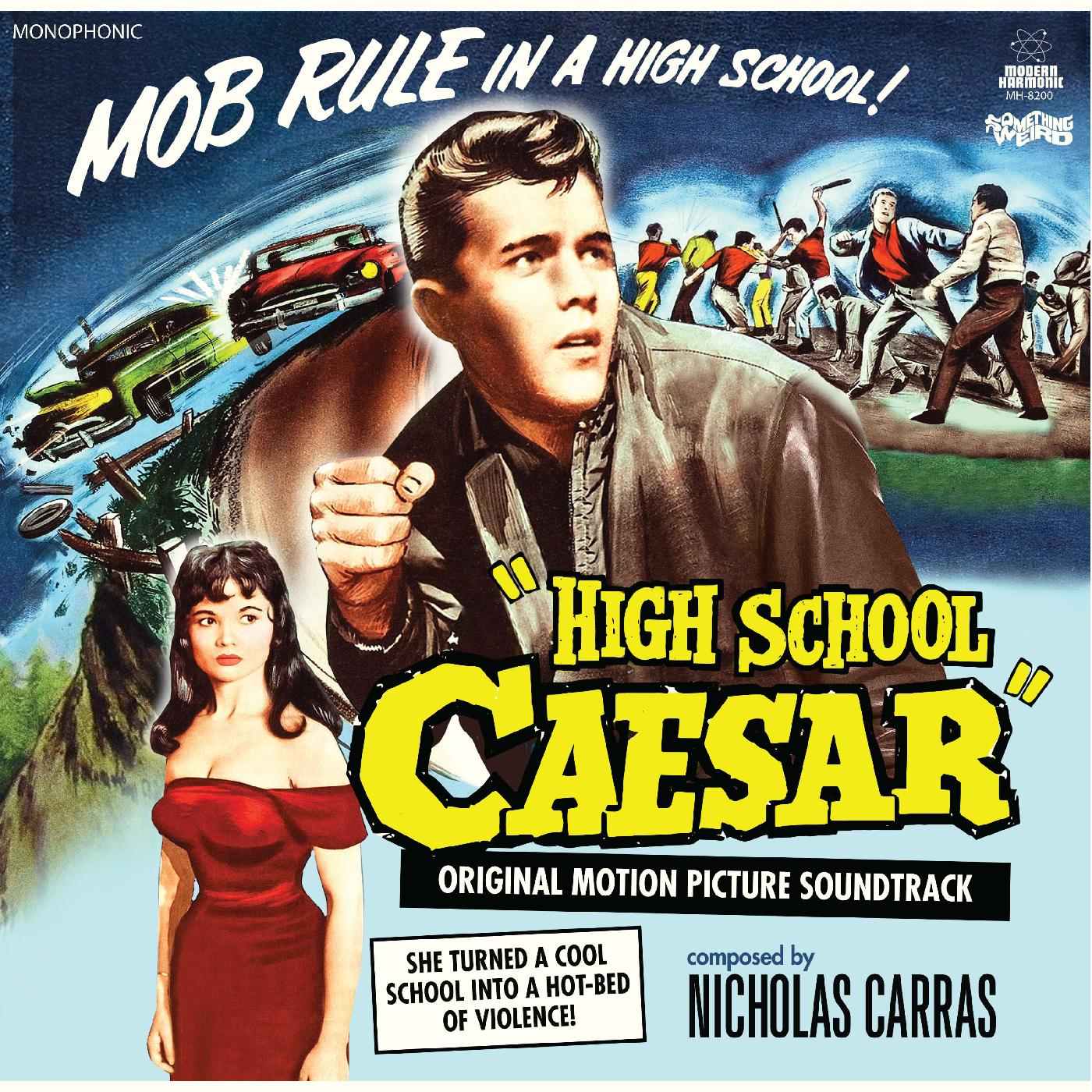 Carras, Nicholas - High School Caesar - Original Motion Picture Soundtrack -  LP + DVD