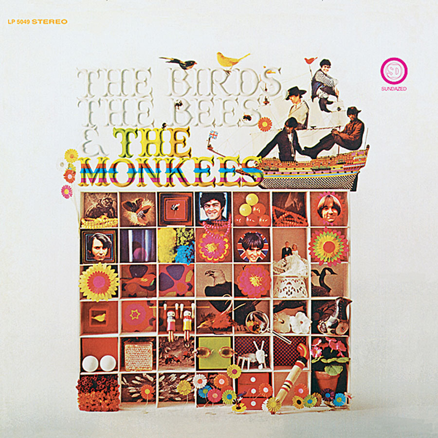 Monkees, The - The Birds, The Bees & The Monkees LP