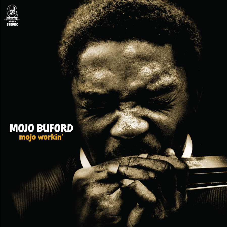 Mojo Buford - Mojo Workin' - Black Vinyl LP - LP-ANTHRO-103